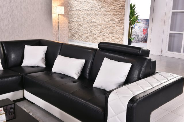 2018 Real Muebles Muebles De Sala Rushed Sectional Sofa Design U Shape 7  Seater Lounge Couch Good Quality Cheap Price Leather