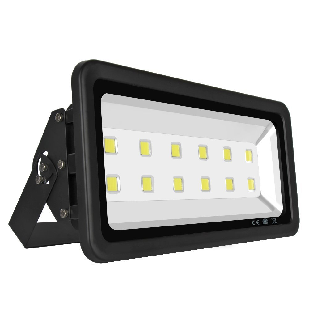 Bright LED Floodlight 600W Warm / Cold White Flood Lighting waterproof IP65 LED Flood Lights