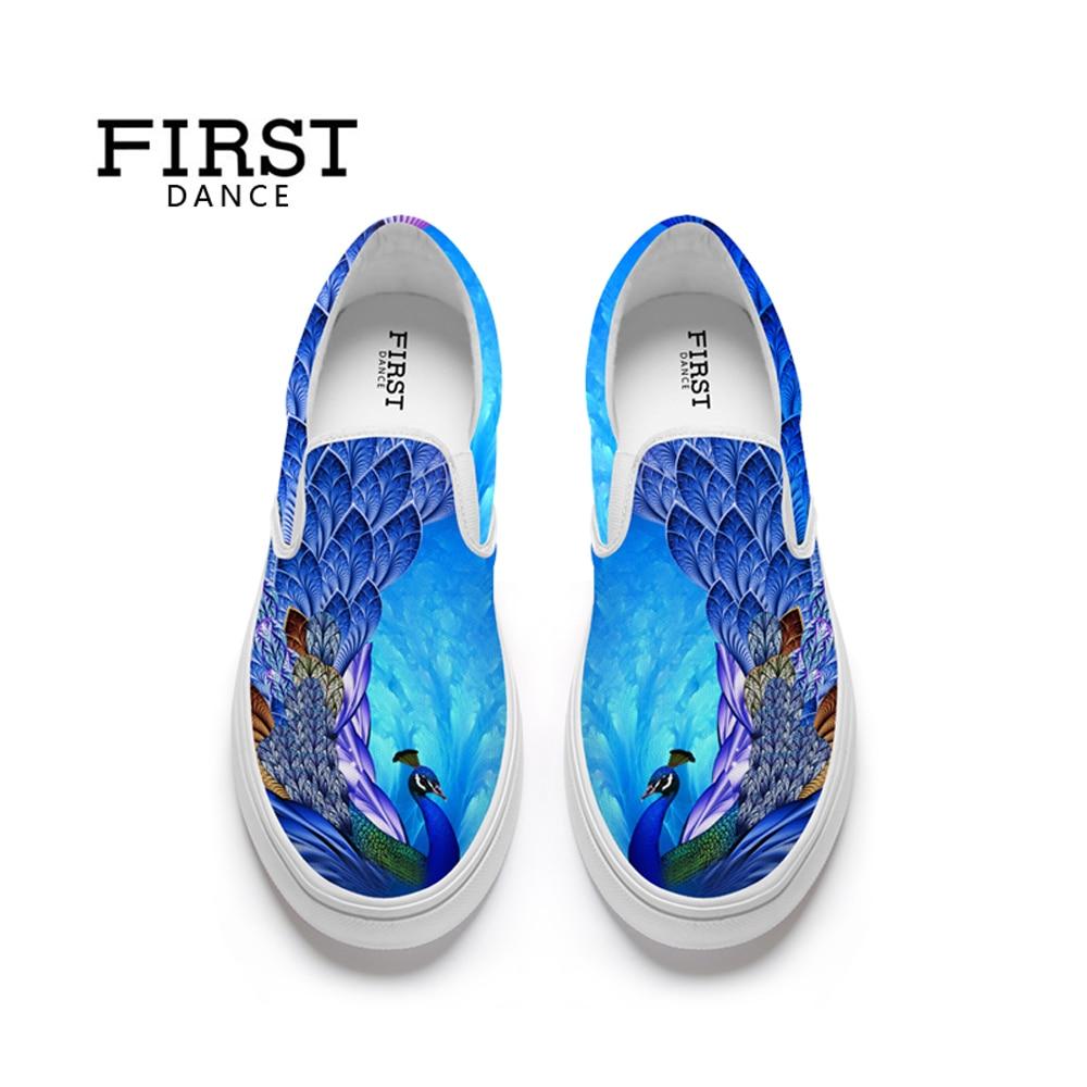 Womens Light Blue Floral Print Canvas Sneaker Lace Up Plimsoll Tennis Shoes
