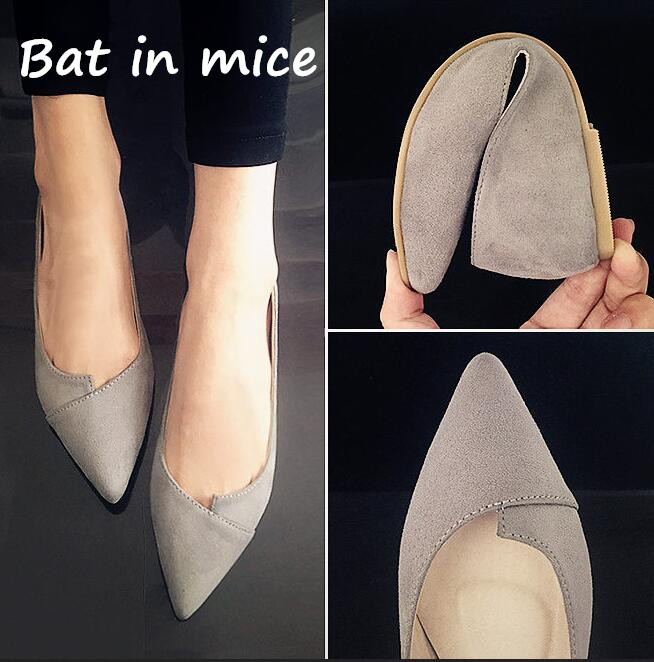 B.I.M. 2018 Women Shoes Woman Flats high quality suede Casual Comfortable pointed toe Rubber Women Flat Shoe Hot Sale New Flats new listing pointed toe women flats high quality soft leather ladies fashion fashionable comfortable bowknot flat shoes woman