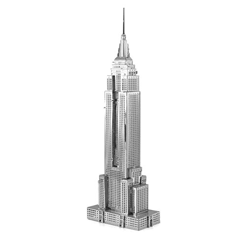 Metall Erde 3D Metall Modell Kit Empire State Building Modell Puzzles Spielzeug...