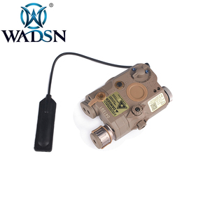 Image 4 - WADSN Airsoftพจนานุกรม 5 PEQ15 Red Dot IR Laser SightยุทธวิธีLA5C PEQ 15 อาวุธไฟฉาย 200 Lumenการล่าสัตว์armasสีขาวScout LIGHT