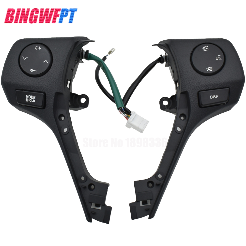 Auto Parts Steering Wheel buttons 84250 02560 8425002560 Steering Wheel Switch For Toyota Corolla 2014 2015