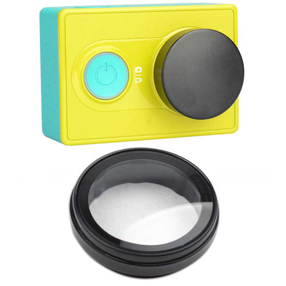 UV Filter Objektiv Schutz Camera Lens Cap Abdeckung Für Xiao mi yi xiaoyi Action Sport Kamera Zubehör