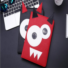 2017 new arrive personality character tablet cover for ipad A1822 9.7inch leather case with Card slot Smart sleep