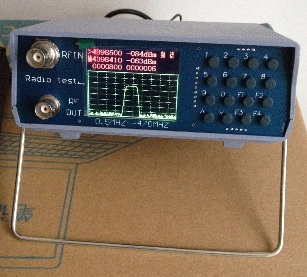 Online Shop U V Uhf Vhf Dual Band Spectrum Analyzer W Tracking Center Frequency Fm Transmitter Source 136 173mhz 400 470mhz Aliexpress Mobile