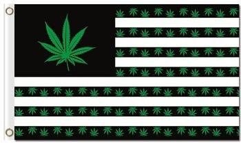 Reggae Rasta música 3x5ft Bandera Nacional Americana tipo de hierba de cartel de banderas