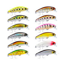 6Pc Minnow Hard Bait Fishing Lures 8cm Tackle 11g with 6# Hooks 12 Color Baits 2018 Set Retail Box