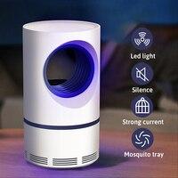 مصابيح البعوض الجديدة 2019 عالية الكفاءة والحفازة الضوئية للمنزل والبكم USB ذات الجهد المنخفض للأشعة فوق البنفسجية الآمنة الموفرة للطاقة مصباح...