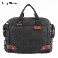 High Quality Multifunction Canvas Bags Men Business Bag Casual Handbag Men Messenger Bag Brand Quality Vintage