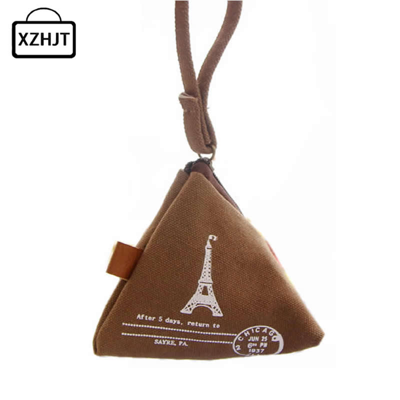 Landscape Eiffel Tower Coin Purse Mini Casual Women Money Wallet Bag Girls Key Coins Pouch Children Change Purse Holder For Gift