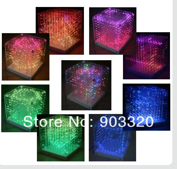 Back To Search Resultslights & Lighting Commercial Lighting 2x Lot New Smd 0805 3in1 3d Led Cube Light,3d Cube Light For Advertising,dj Party Show,led Display,sd Cube Lgiht