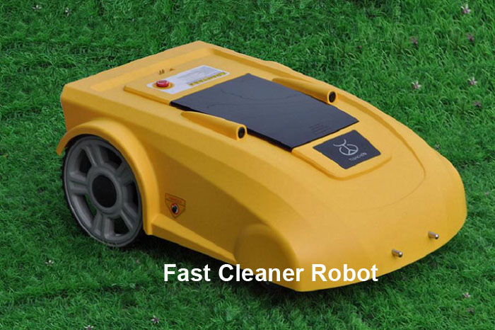 Robotic Grass Trimmer L2700+Newest Function Electronic Compass which will help the mower goes well in the slope  цены