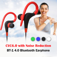 Bluetooth 4 0 Stereo Headset Headphones New Fashion Wireless Sports Earphone With Mic Volume Control For