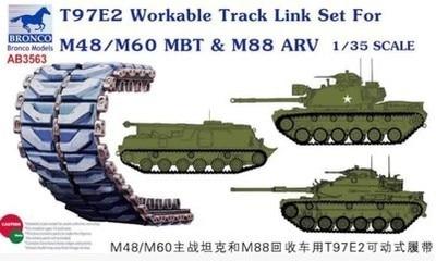 Bronco 1/35 AB3563 T97E2 M48/M60 MBT&M88 AVR Track Link