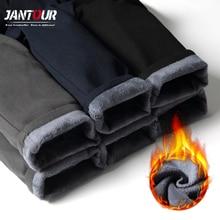 2010 novo inverno dos homens grossos lã fluff calças masculinas coreano casual calças finas quentes para homens preto azul marinho masculino