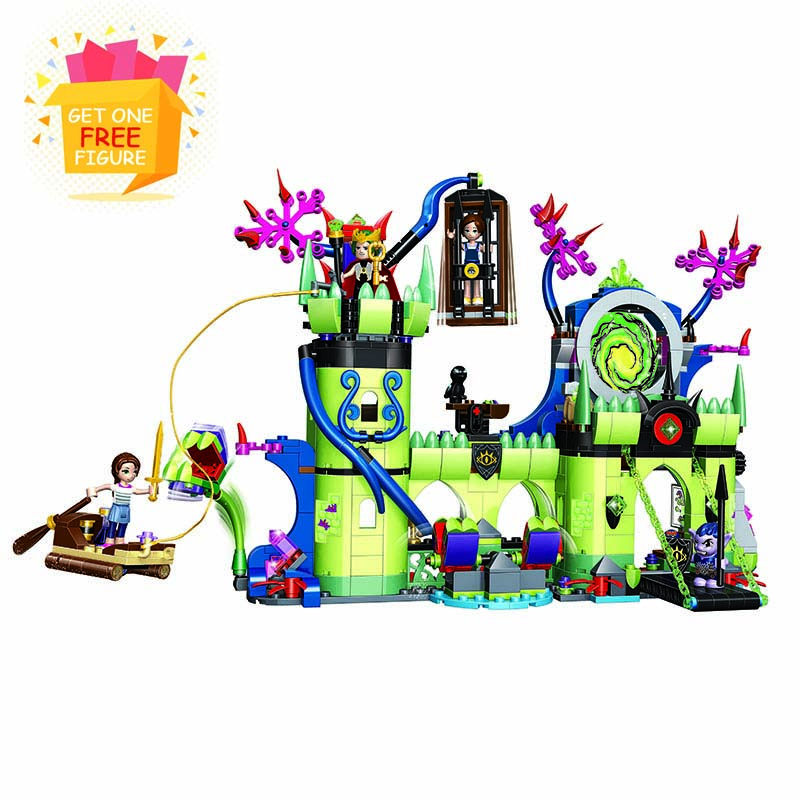 Bela Lepin Elves Breakout from the Goblin King's Fortress Building Blocks kids girls Bricks toys Compatible With legoe 2018 2017 10415 elves azari aira naida emily jones sky castle fortress building blocks toy gift for girls compatible lepin bricks