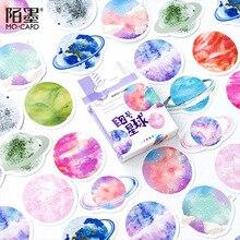 30 pz/lotto stella 32 universo adesivi decorativi adesivi adesivi decorazione fai da te diario adesivi di cancelleria regalo per bambini
