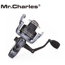 Mr.Charles Seeker Spinning Fishing Reel, Rear Drag System Carp Fishing Reel 5.3:1 5+1BB Reel Fishing, 3000 6000 Reels