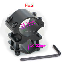 Wholesale Free Shipping Universal Scope mount hunting Accessories Flashlight Laser Mount with Best Quality For Hunting Rifle Gun hunting sports rifle universal mount adapter for flashlight laser torch sight scope 1 inch