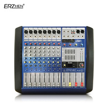 Audio Mixer Console W8000T8 Professional Mixer Audio Amplifier Sound Processor 8 Channel USB