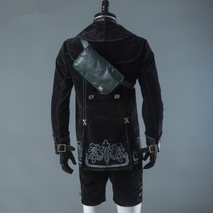 Image 4 - Hot Games NieR Automata 9S Cosplay Costumes Men Fancy Party Outfits Coat YoRHa No. 9 Type S Full Set for Halloween