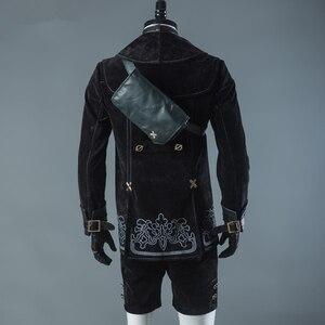 Image 4 - Мужской костюм для косплея NieR Automata 9S, вечерние наряды, пальто, полный комплект на Хэллоуин, 9 типов