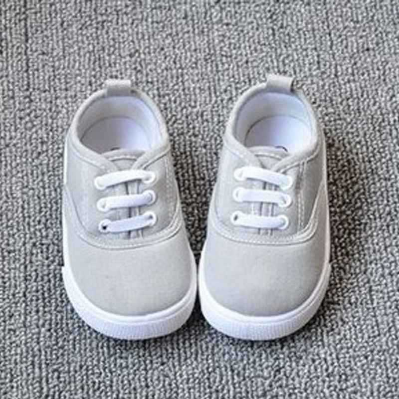 44b6cde32af4 New Girls Boys Fashion Canvas Breathable Sneakers Children Shoes For Kids  Size 13 17 Flats Heels Casual Shoe Little Big Kids-in Sneakers from Mother    Kids ...