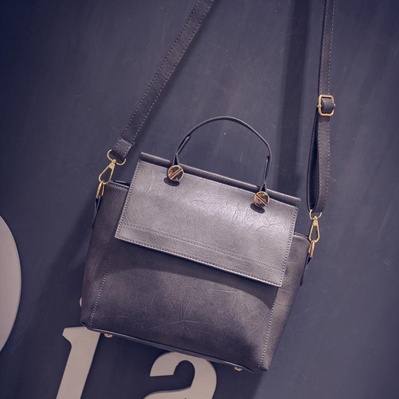 Bogesi New 2018 High Quality Women Handbags Metal Short Handle Female Shoulder Bags Medium Women Messenger bags Tote Briefcase