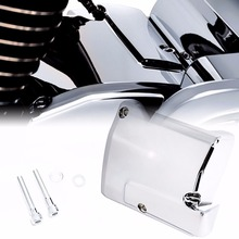 1X Chrome Transmission Top Cover For Harley Touring 2017 2018 2019 Street Glide Road King Road Glide Trikes