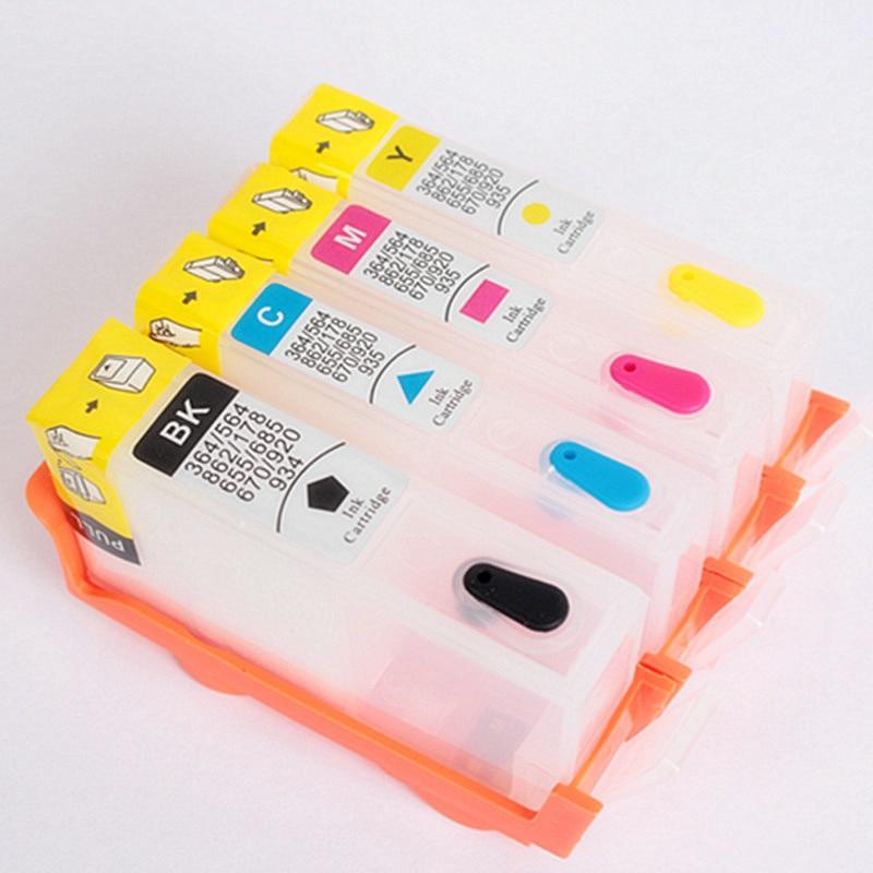 4 Farbe Für hp364 Drucker Tintenpatronen 364 Tinte Refill Kit Verwendet für...
