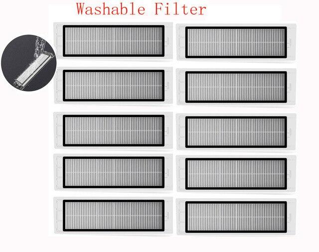 New improved version washable hepa filter for Xiaomi Mi Robot Roborock S50 S51 S55 E35 T60 T61 T65 parts