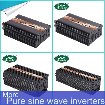 more pure sine wave inverters