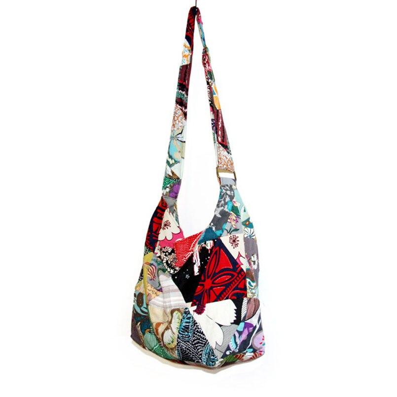 Image 4 - Adjustable Strap Bag Seamless Patchwork Handmade Bohemian Bags Women Shoulder Crossbody Messenger Bag Womens Handbagsmessenger shoulder bagshoulder bagsbags free shipping -