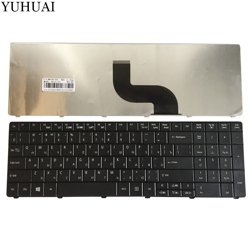 New RU Laptop keyboard FOR Acer Aspire E1-571G E1-531 E1-531G E1 521 531 571 E1-521 E1-571 E1-521G Black Russian