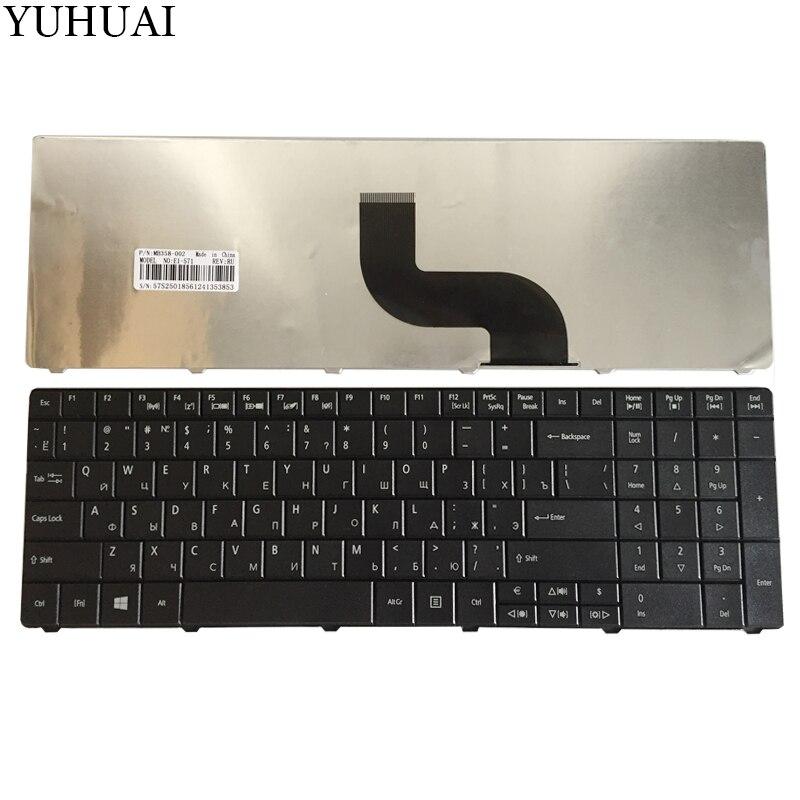 Nueva RU teclado del ordenador portátil para Acer Aspire E1-571G E1-531 E1-531G E1 521, 531 de 571 E1-521 E1-571 E1-521G ruso negro