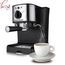 1pc 220V 1350W Household Italian coffee machine 15 bar Automatic Italian coffee machine Steam type milk machine