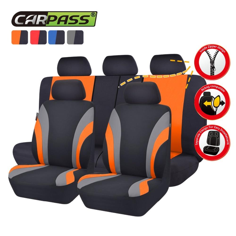 Car-pass Asientos de coche Cubiertas de tela de malla Asientos - Accesorios de interior de coche - foto 4