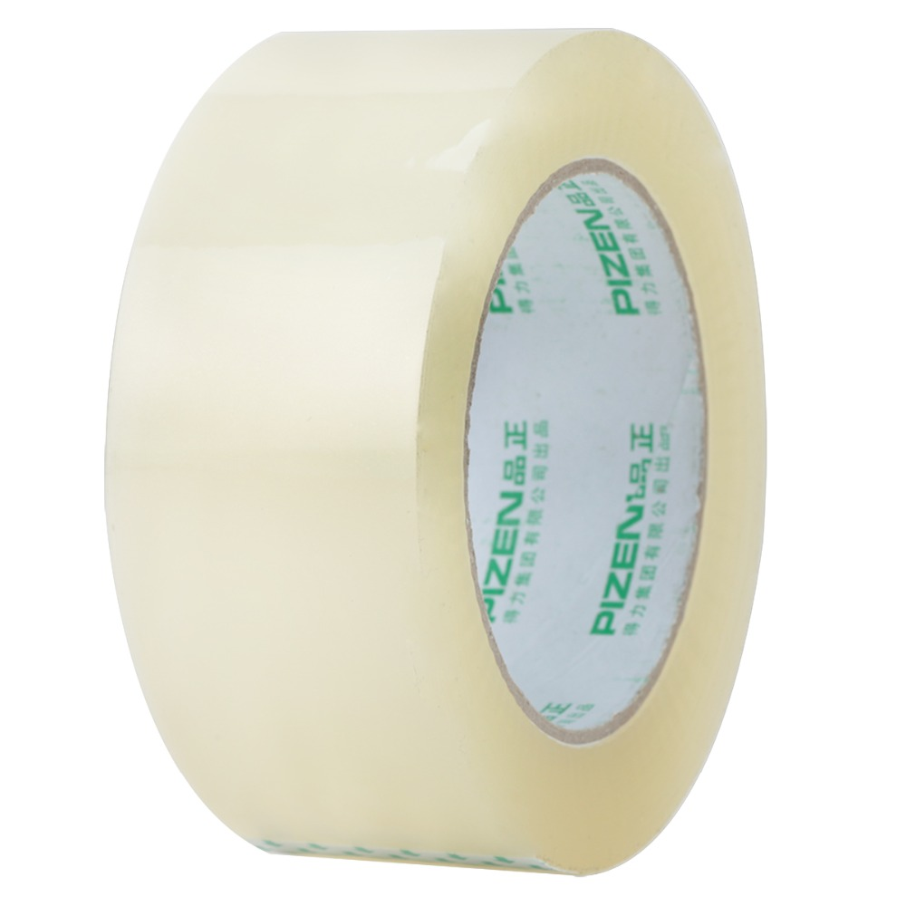 One Roll Transparent Tape Wide Size 45mm*100m*50um Sealing Tape For Packaging Tape Express Boxes Sealing Deli 33119