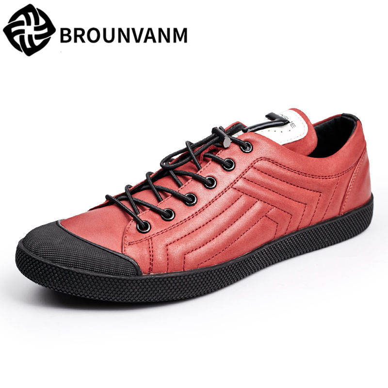 Men casual shoes breathable leather lazy fall flat black all-match trend low shoes breathable sneaker fashion boots men casual bimuduiyu new england style men s carrefour flat casual shoes minimalist breathable soft leisure men lazy drivng walking loafer