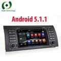 Quad-core HD Android 5.1.1 Мультимедийный Dvd-плеер Автомобиля Для BMW E39/X5/M5/E38/E53 С Canbus Wi-Fi Поддержка 3 Г DAB GPS BT Радио Карта