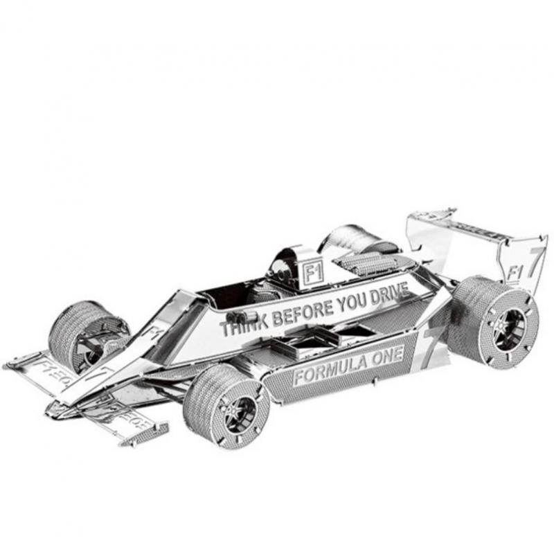 Metallic Formula Car F101 1:50 3D Puzzles Nano Metal Model Sports Car F1 Racing New Styles Jigsaw Puzzle