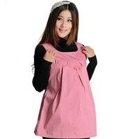 2017 New anti-radiation clothing maternity radiation protection vest tops pregnant Radiation Resistant antistati dress