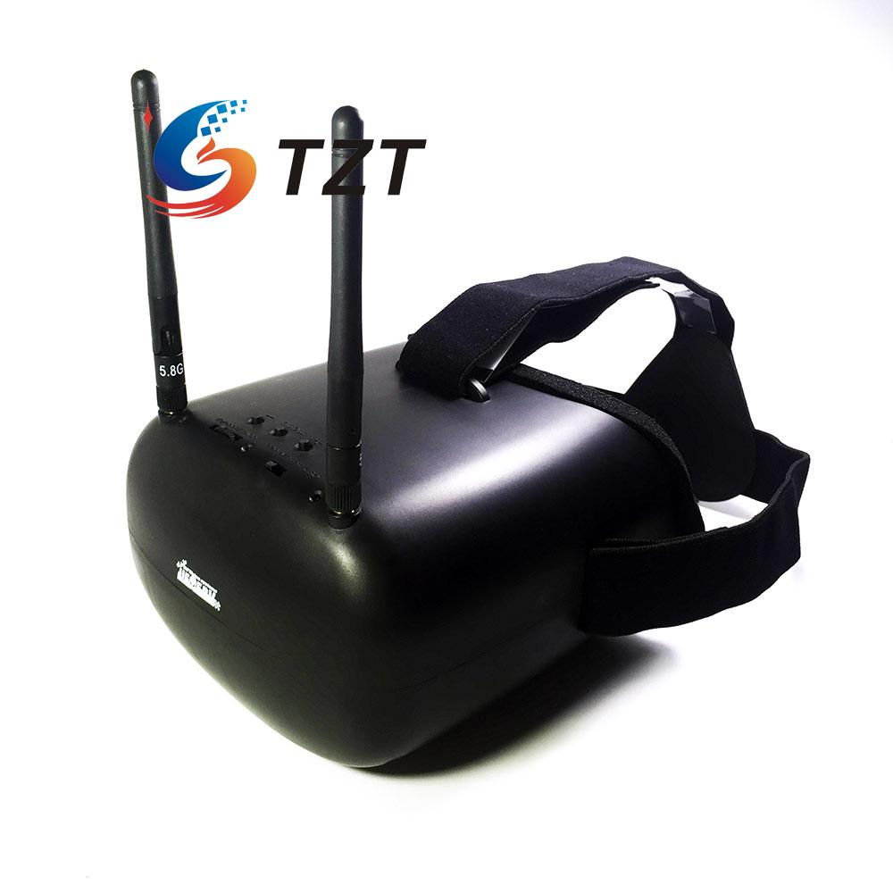 FPV Goggle X3 Video Glasses 800x480 HD Built-in 40CH 5.8G Receiver for Multicopter 3d fpv goggle glasses with 3d 2d mode 40ch 5 8g receiver w camera for rc drone aerial photography for skyzone sky02s v