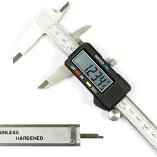 Discount! New Digital Vernier Caliper 150mm/6inch With Box Stainless Steel Electronic Vernier Calipers LCD Paquimetro Micrometer E3371 T10