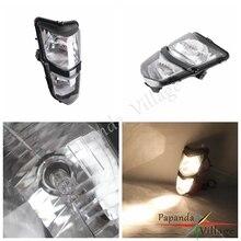 Papanda Motorbike 12V Amber Light Headlights Assembly Custom Headlamp for Suzuki ATV Quadsport LT-Z400 Z400Z все цены