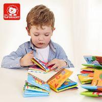 Candice guo doux bébé chiffon doux bébé livre d'apprentissage Animaux Articles utilisation quotidienne nombre trafic Fruits forme d'anniversaire cadeau 6 pcs/ensemble