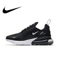 Оригинальный Nike Оригинальные кроссовки AIR MAX 270 Для женщин Беговая Спортивная обувь Открытый кроссовки хорошее качество удобные низкие ...