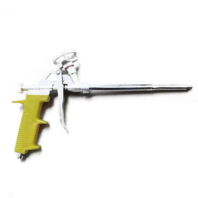Heavy Duty PU Foam Gun Grade Expanding Spray Application Applicator Length 28cmBlack Yellow Orange Professional