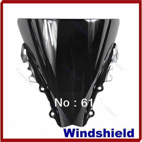 Kris For Yamaha YZF R6 2006 2007 06 07 New Motorcycle Windshield Windscreen Black hot